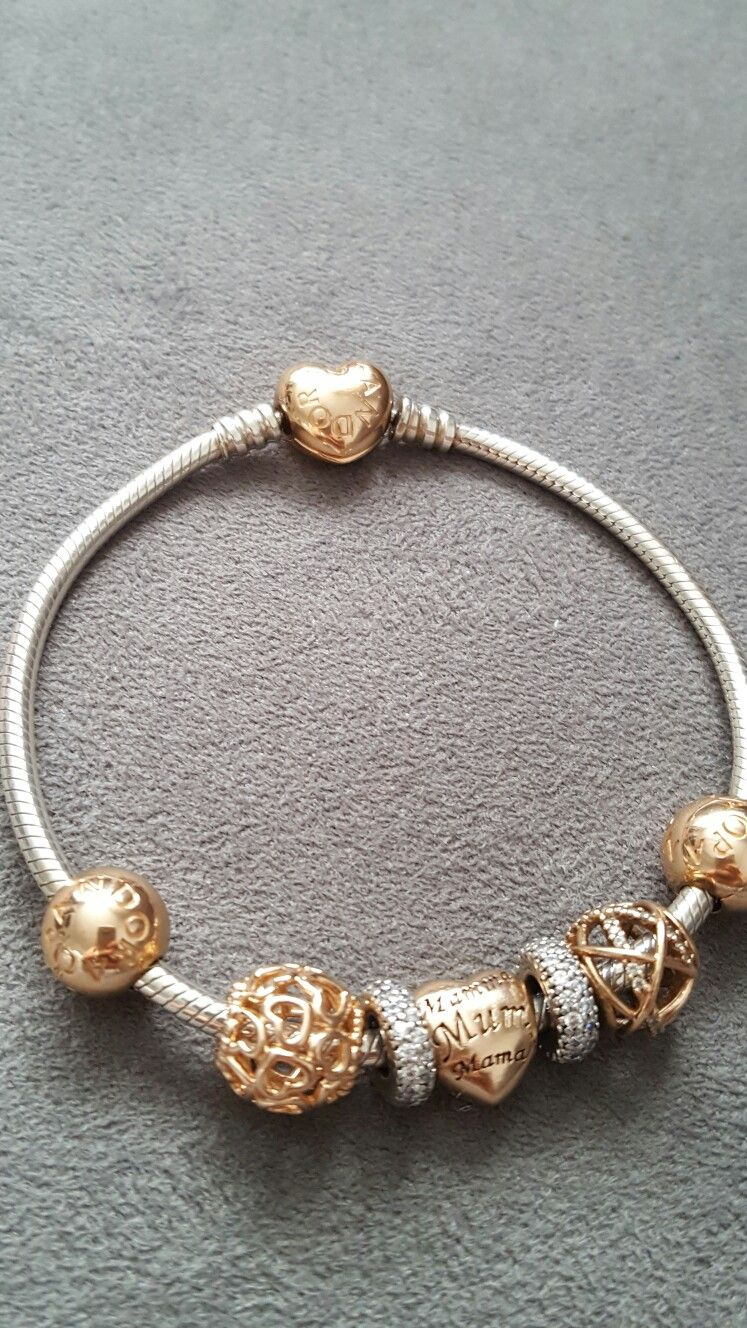Pin by natalie green on my pandora rose gold bracelet pinterest