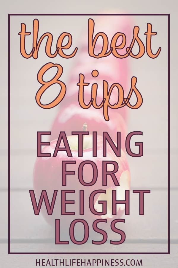 How do you eat clean and lose weight? Eating for weight loss