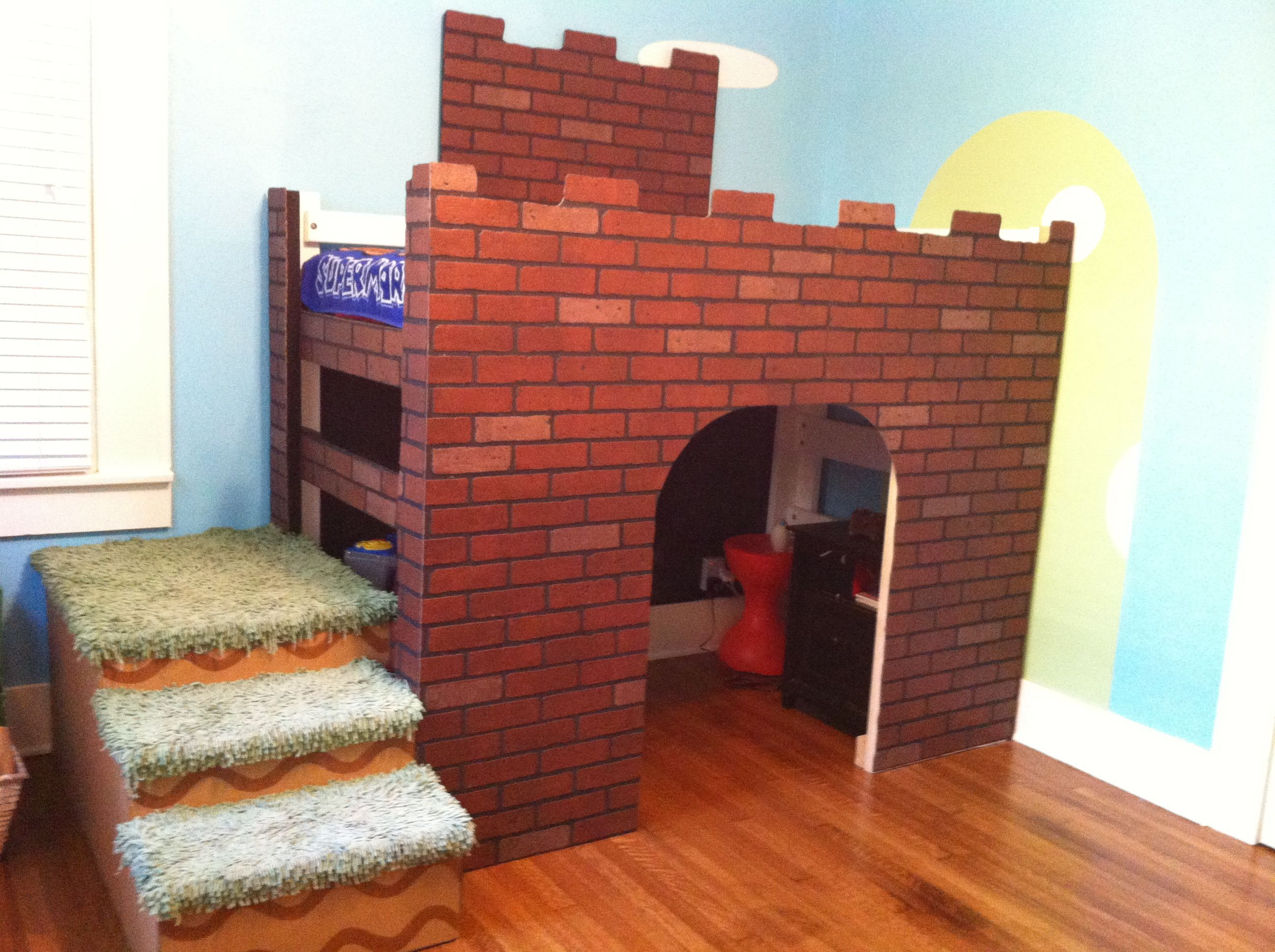 super mario bros loft bed