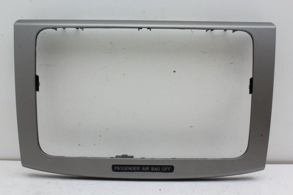 06-11 Chevrolet Impala Radio Climate Control Center Dash Bezel Trim