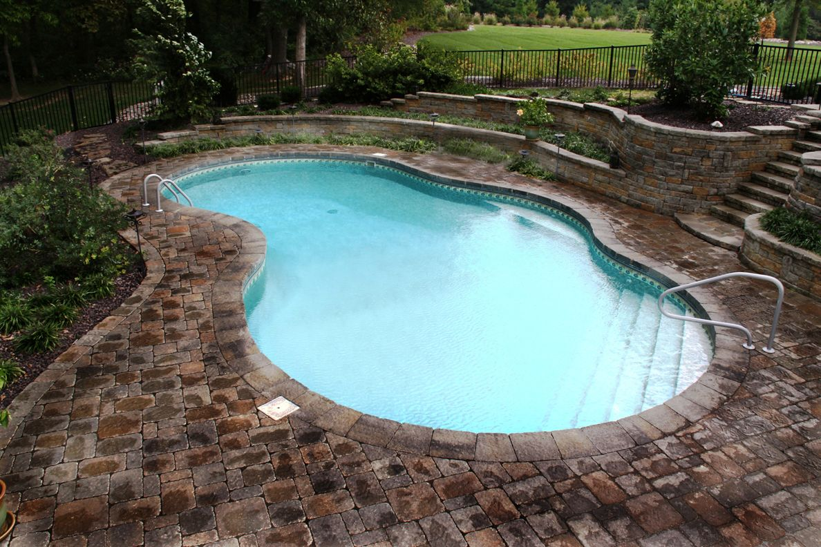 17 best images about pool ideas on pinterest swimming pool kits decks and backyards - Inground Swimming Pool Designs Ideas