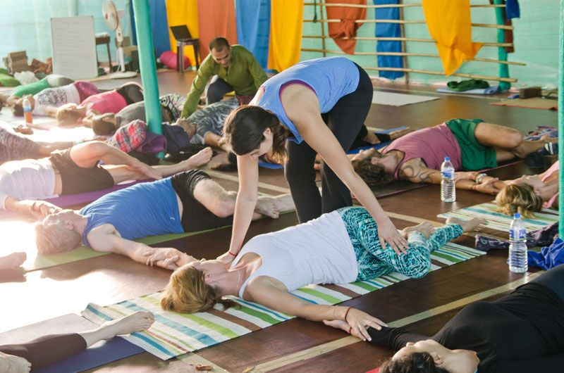 Hatha Yoga Class Yoga Teacher Training India Hatha Yoga Hatha Yoga Class