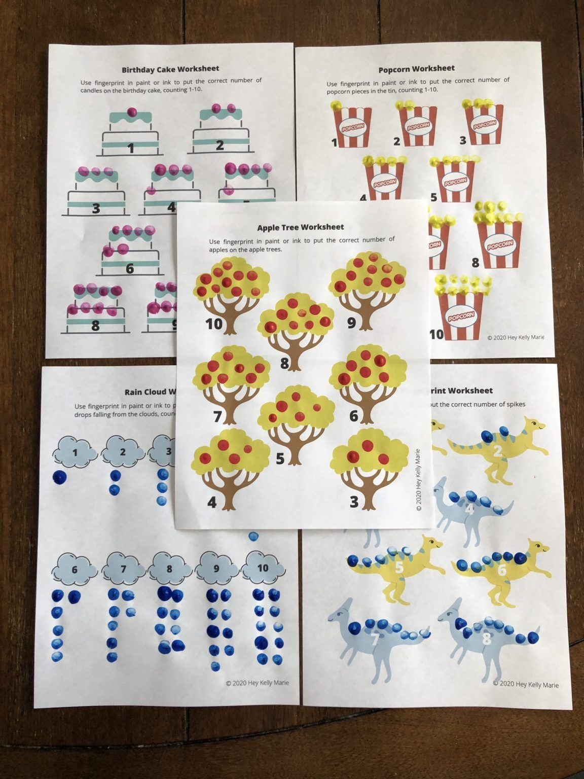 Free Preschool Math Workbook For Learning At Home