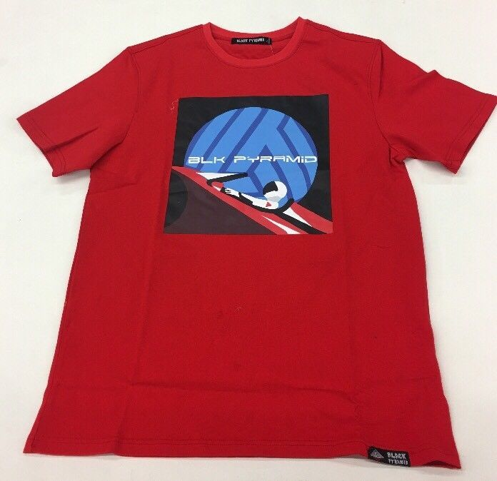 6034ea8cf354 Space T Shirts Ideas  spaceshirts  spacetshirts Black Pyramid Red Space  Surfer Tee Shirt Rare