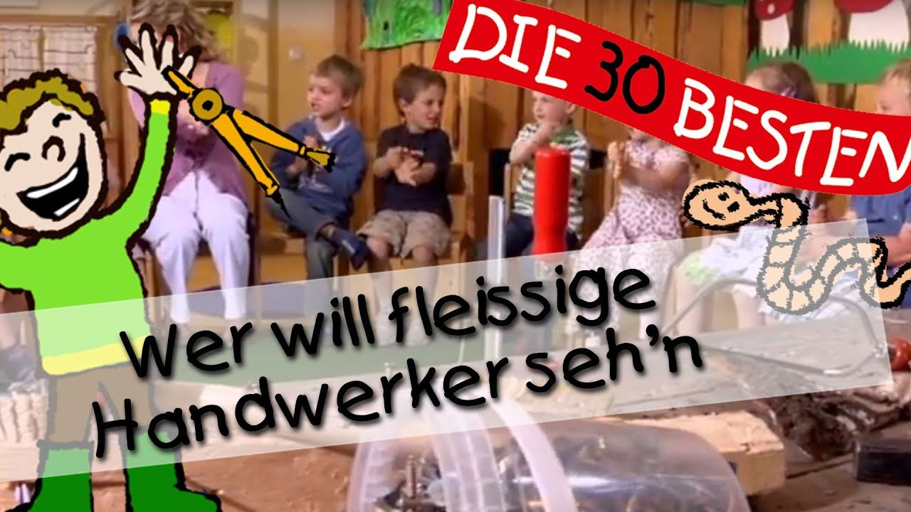 Liedtext Wer Will FleiГџige Handwerker Sehn