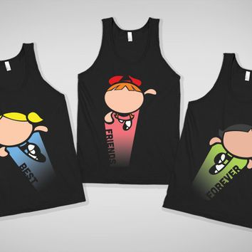 Impossibly Cute Best Friends Forever Tanks on Wanelo