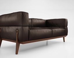 Ago sofa 3D Model Диван