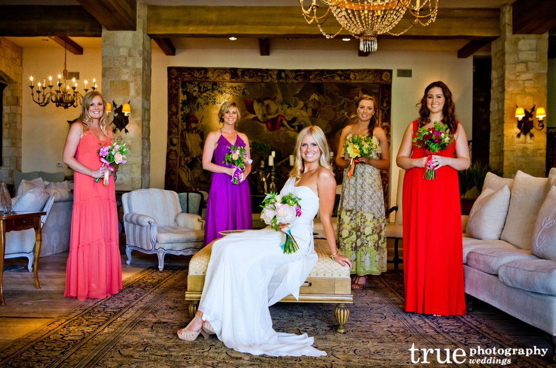 Mix matched and multi colored bridesmaid dresses from our blog weve highlighted twelve of the most popular colors in bridesmaid dresses from metallic and cream to red and blue ombrellifo Choice Image