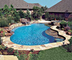 In Ground Pool by Blue Haven Pools & Spas. Custom