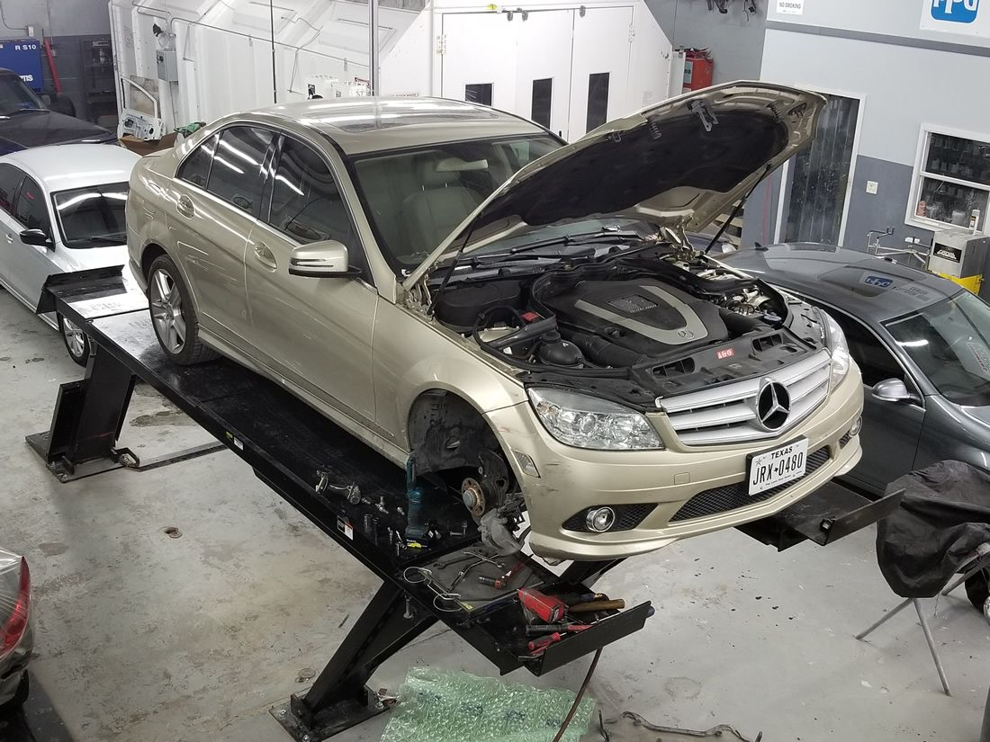 Body shop and auto collision repair in garland texas