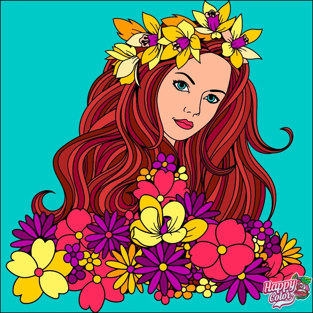 Pin By Joanne Rich On Happy Color Game Coloring Book Art Colorful Art Happy Colors