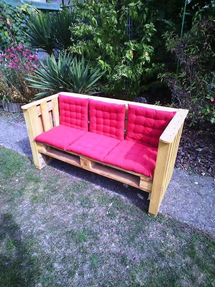 Möbel aus Paletten 105 fantastische Ideen zum Nachbauen Pallets - gartenbank aus paletten selber bauen