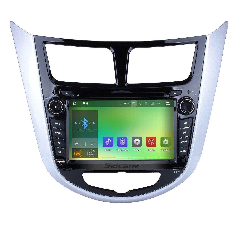Seicane 2011 2012 2013 2014 2015 Hyundai Verna Bluetooth