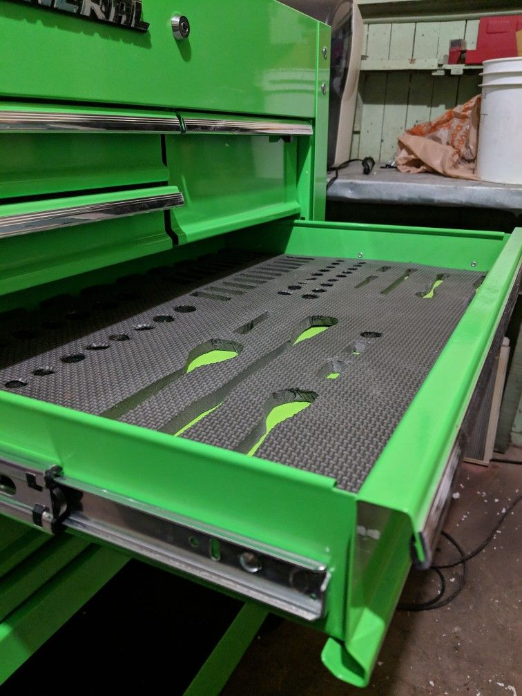 Foam Toolbox Liner Tool Box Drawer Liner Tool Box Drawer Liner
