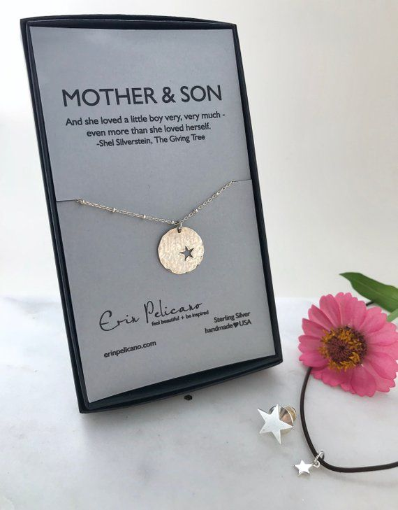 Mother Of The Groom Gift For Mom Necklace Son In Law New