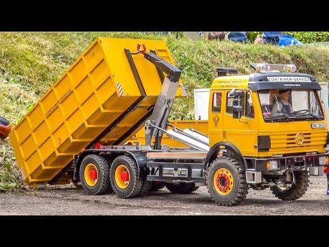 rc trucks construction machines scania mercedes actros. Black Bedroom Furniture Sets. Home Design Ideas