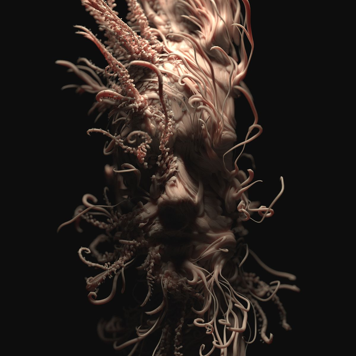 Abstract Portraits on Behance Abstract portrait