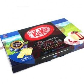Kit Kat Blueberry Cheesecake | Blueberry cheesecake, Kit ...
