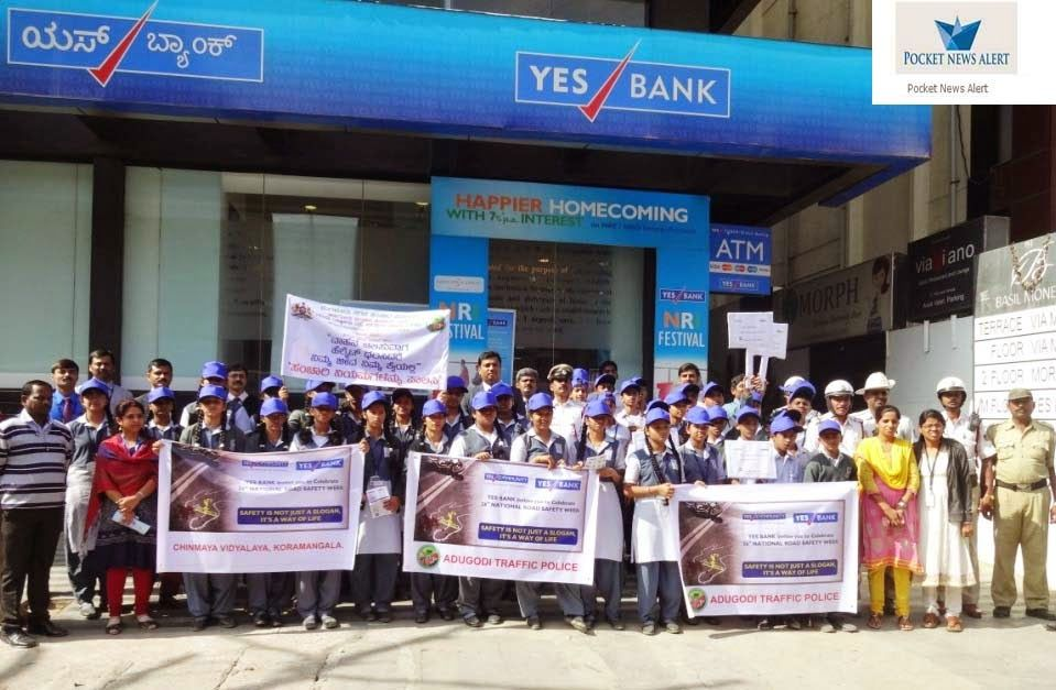 YES BANK creates awareness on Road Safety through Say YES