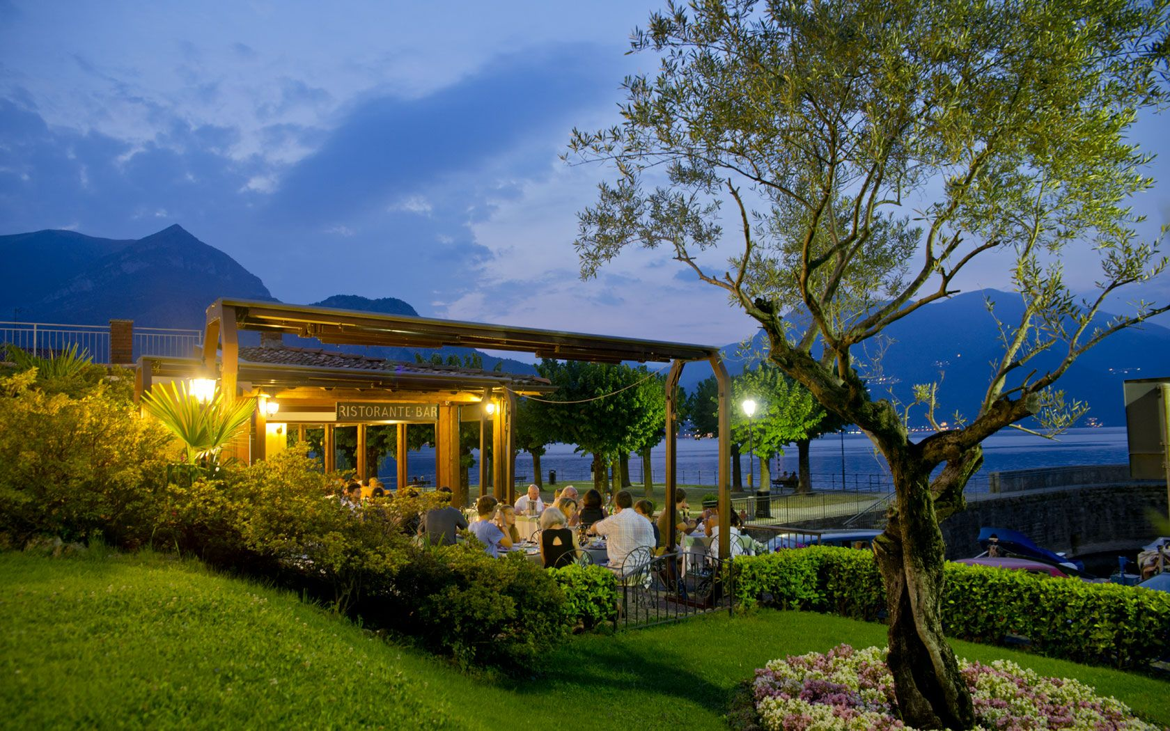 Ristorante la Punta Bellagio, Lake Como, Italy (With