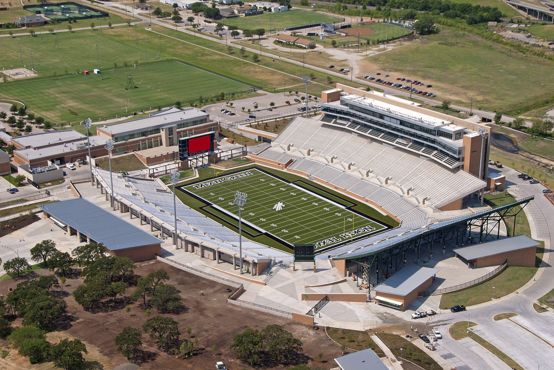 UNT Football Stadium Sports stadium, Stadium, Football