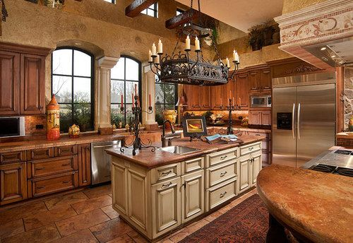 15 Design Ideas For Kitchens Without Upper Cabinets: Kitchens Without Upper Cabinets, Big Lots Kitchen Island