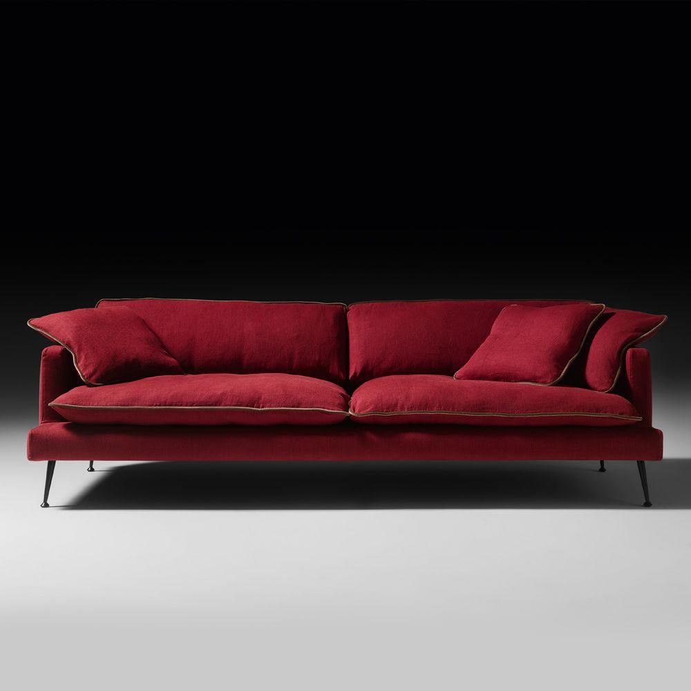 Modern Italian Linen Designer Sofa Juliettes Interiors Sofa Design Bed Linen Design Furniture