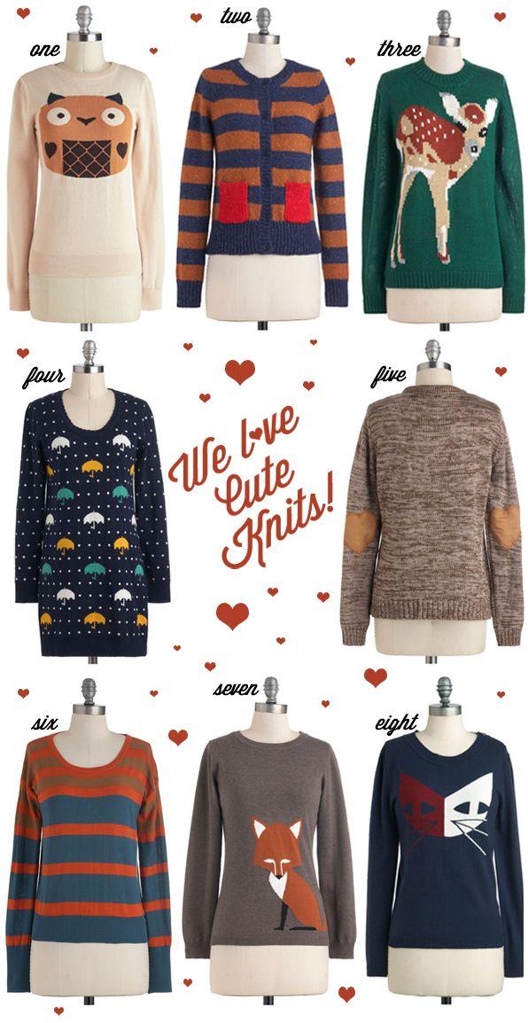 Oh So Lovely Vintage: Knit season!