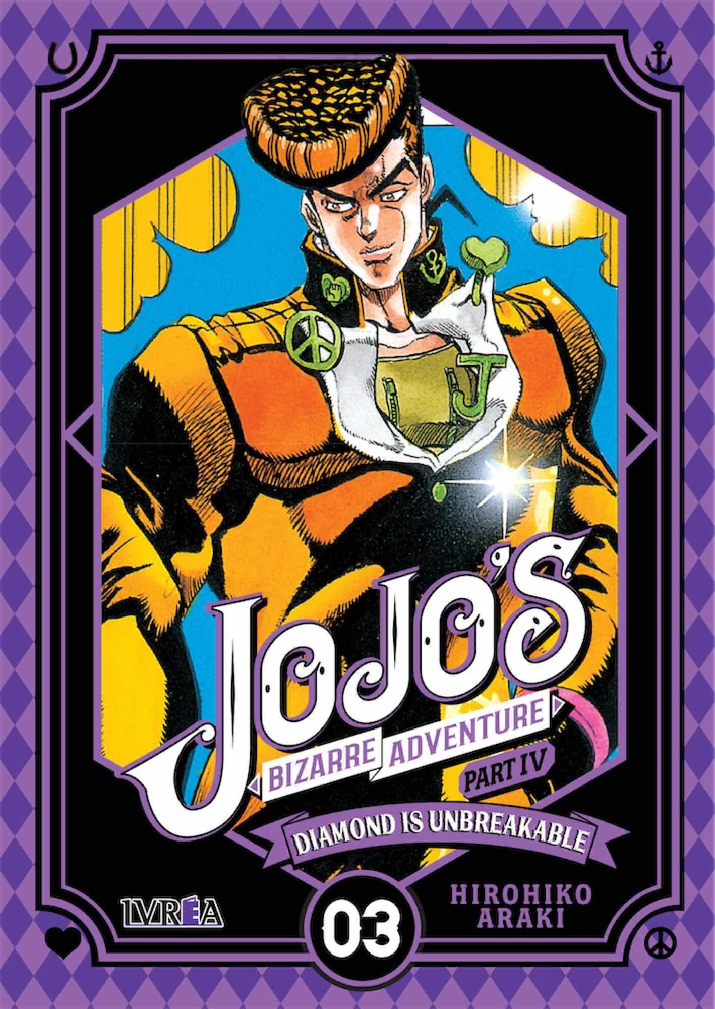JOJO'S BIZARRE ADVENTURE PARTE 4 DIAMOND IS UNBREAKABLE