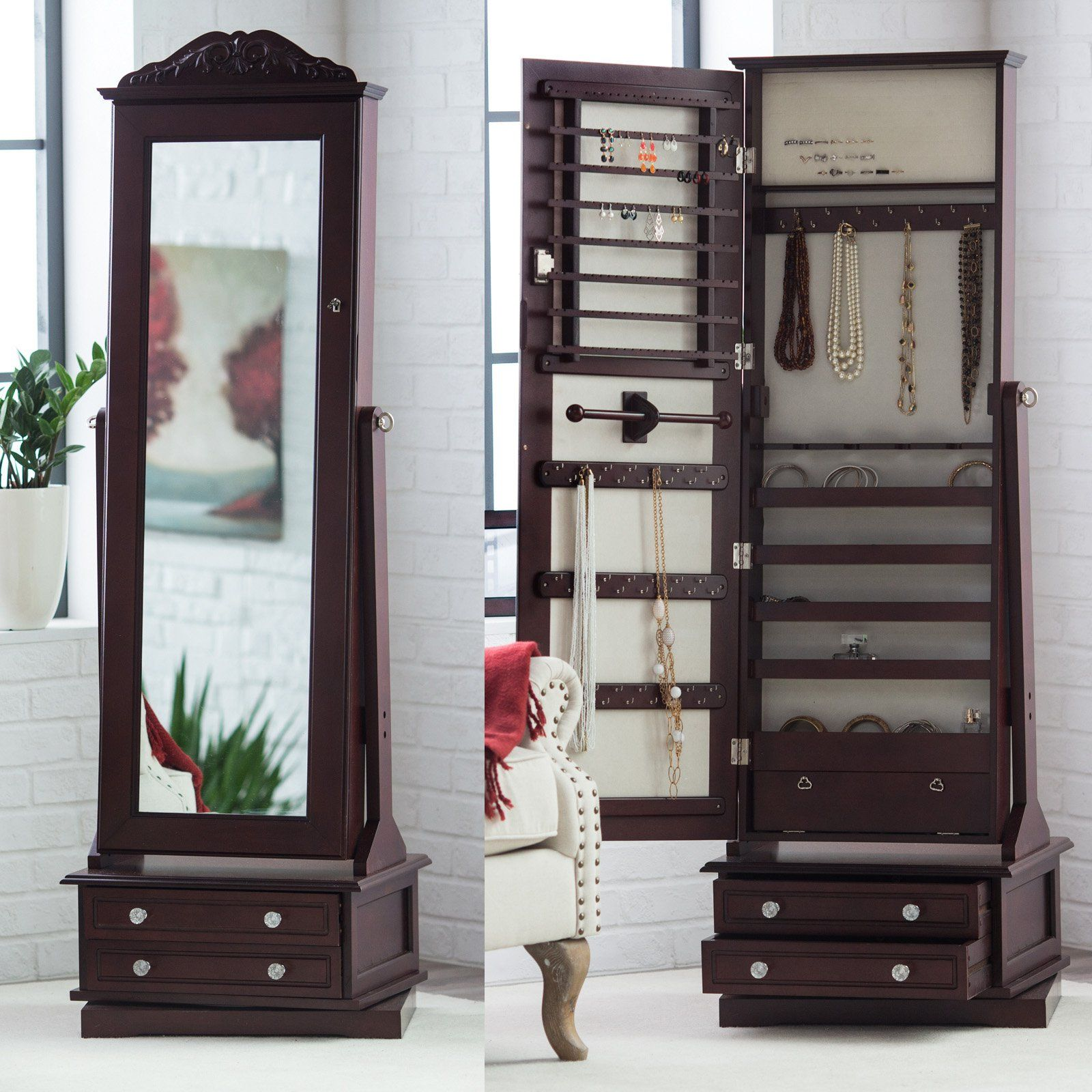 37++ Standing jewelry boxes at walmart information