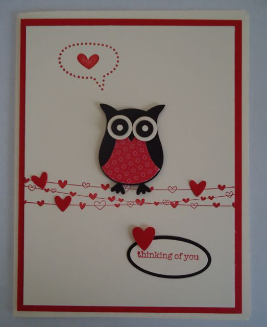 stampin up card images jens craft corner blog archive my valentine stampin