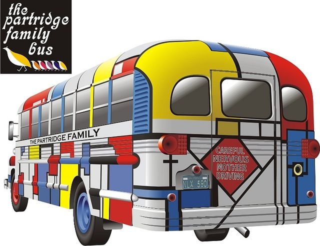 Partridge Family Bus Partridge Family