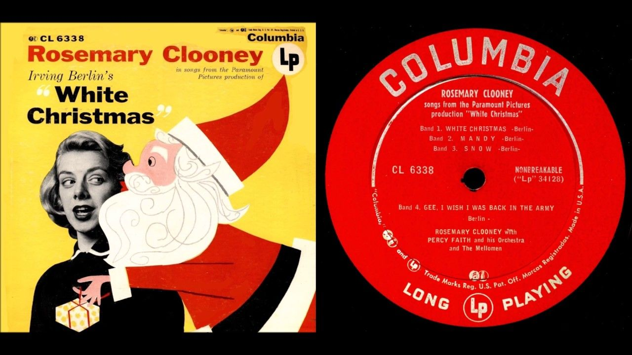 Rosemary Clooney White Christmas Album