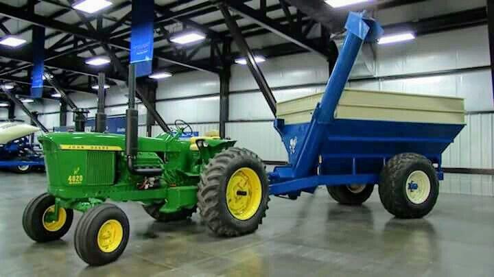 JOHN DEERE 4020 KINZE Repower | John Deere equipment | Tractors