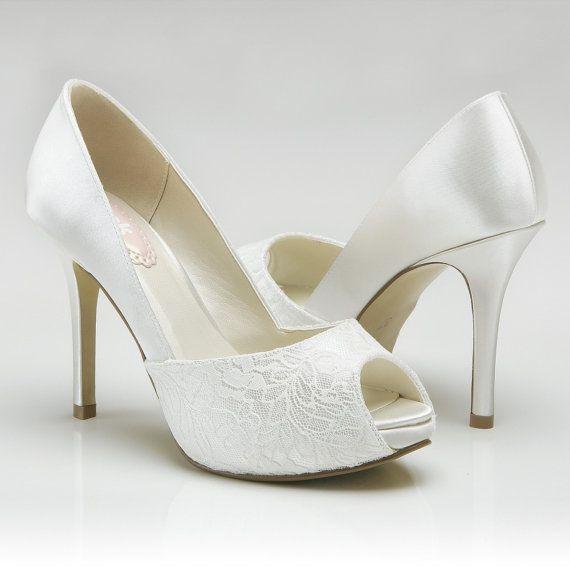 Weddings Accessory Wedding Shoes High Heel Peep Toe Womens Dress