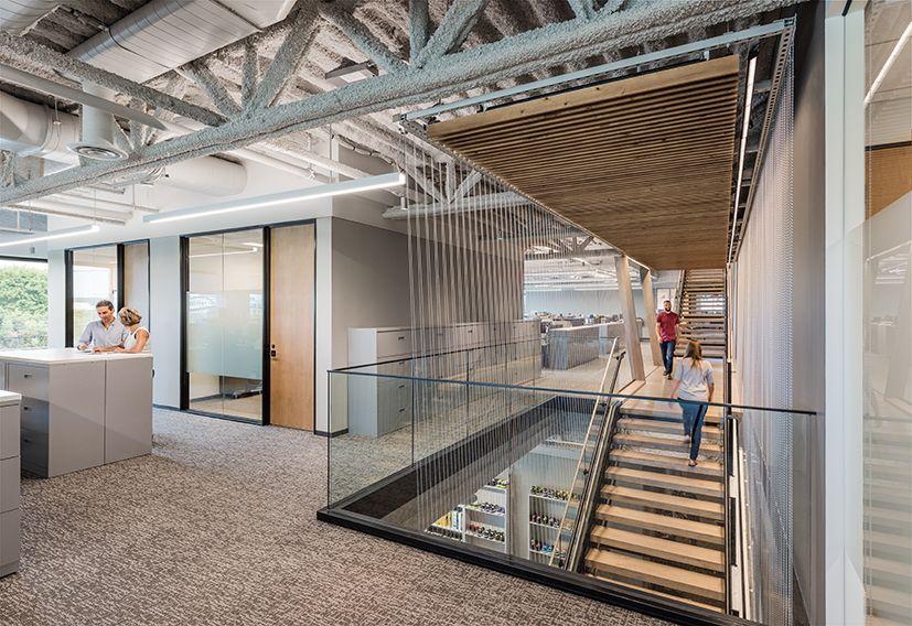 Wolverine Worldwide Sasaki Corporate interiors, Design