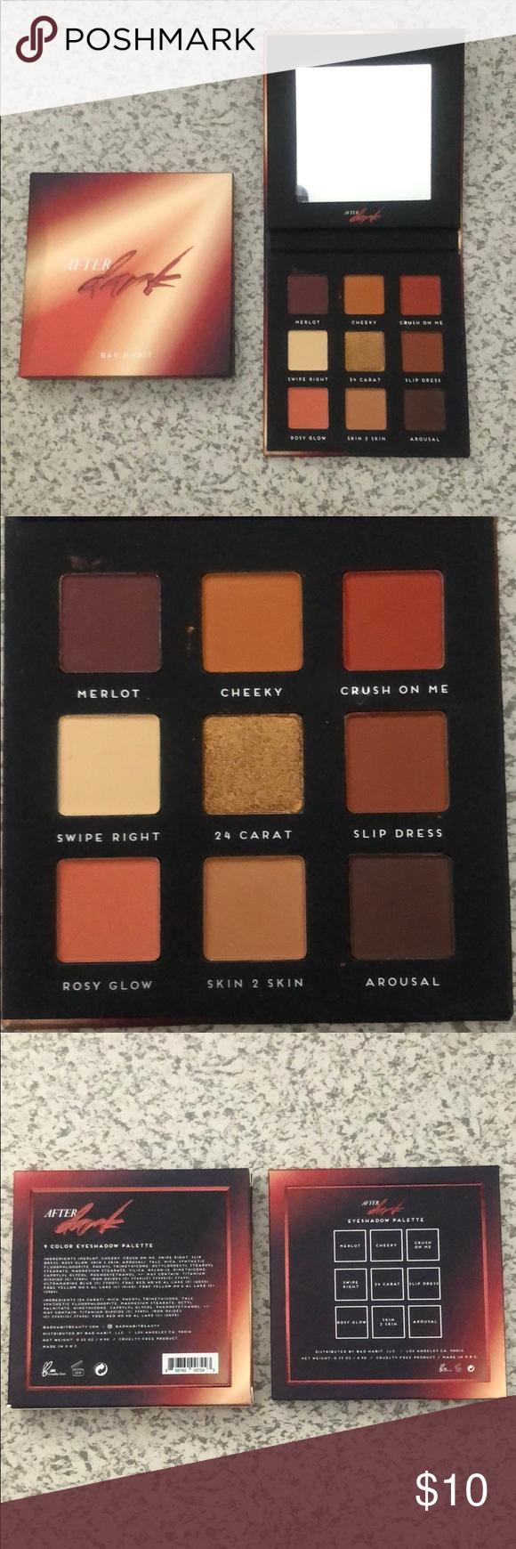 Bad Habit After Dark Eyeshadow Palette Boutique (With