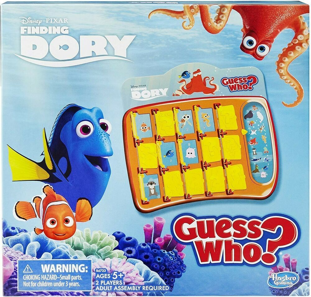 Guess Who? Game Finding Dory Edition HasbroGaming