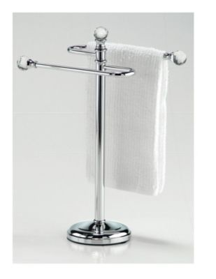 towel stand chrome towel shelf shop staples for taymor free standing crystal fingertip towel stand chrome and enjoy everyday low prices plus free shipping on orders over 3999 stand