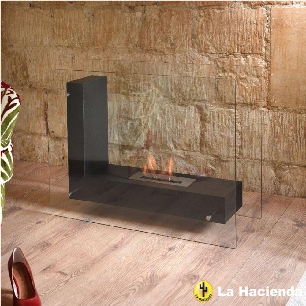 la hacienda alma large bio ethanol fireplace indoor outdoor garden rh pinterest com