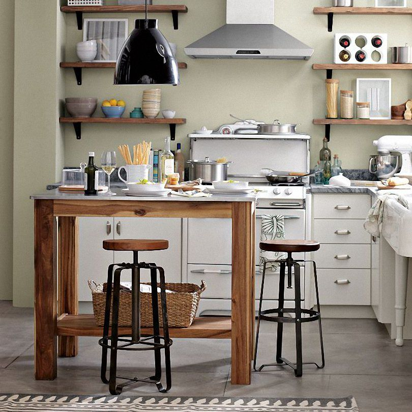Appealing Kitchen Room With Breakfast Table And Kitchen