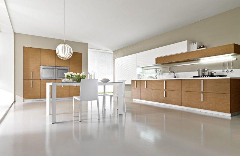 Open Modular Italian Kitchen Design