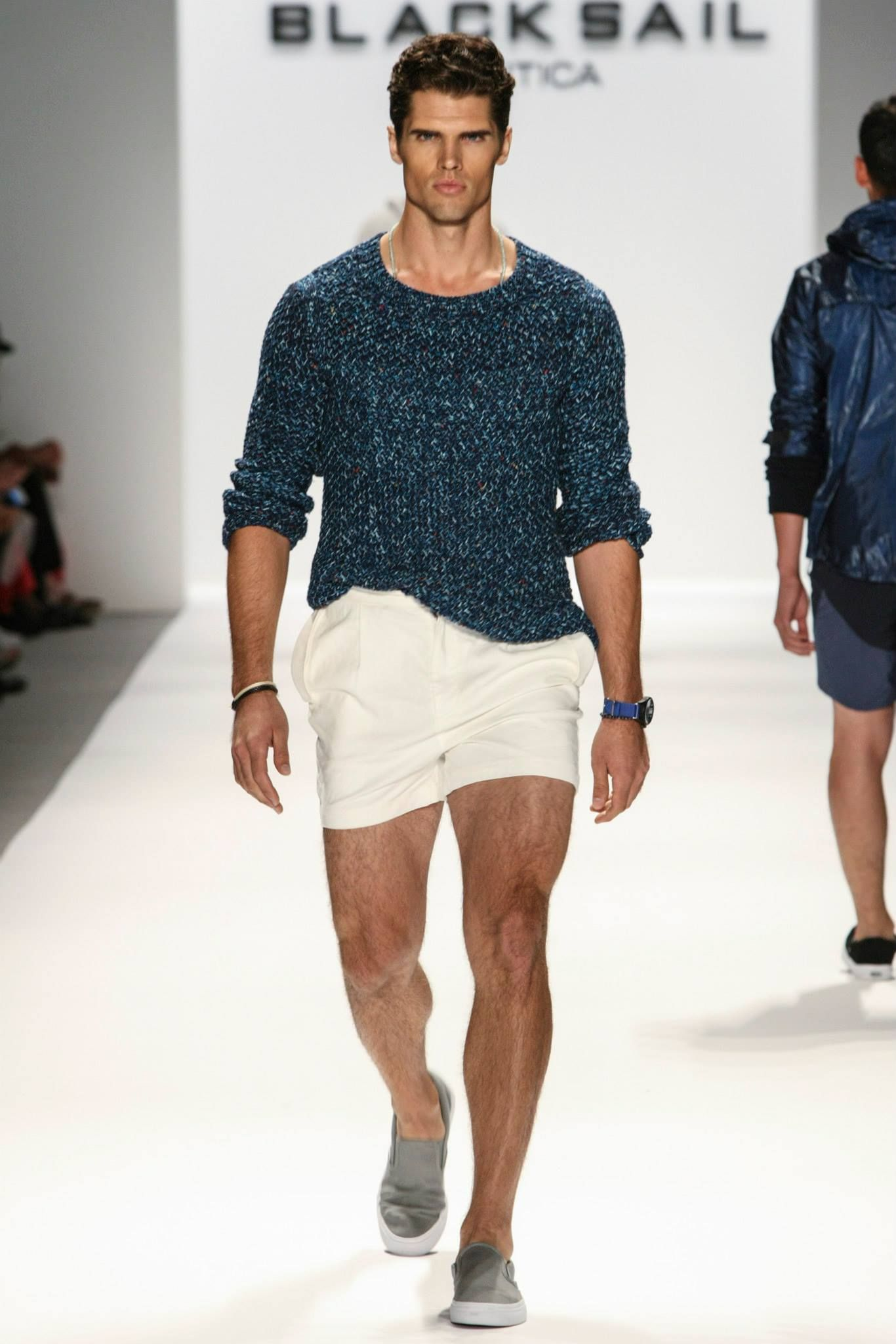 Nautica Men 39 S Spring 2014 Black Sail Fashion Show Sartorial Exposure Summer Style For Men