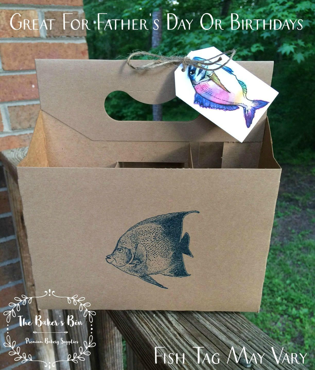 6 Pack Kraft Beverage Holder 12 Oz Bottle Holders Kraft Cardboard 6 Pack Beer Carrier 7 5 8 X 5 1 4 X 8 Craft Bee Beer Carrier Beer Fish Craft Beer