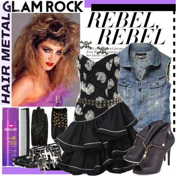80 39 s glam rock fashion google search glam rock xmas party pinterest rock fashion 80 s. Black Bedroom Furniture Sets. Home Design Ideas
