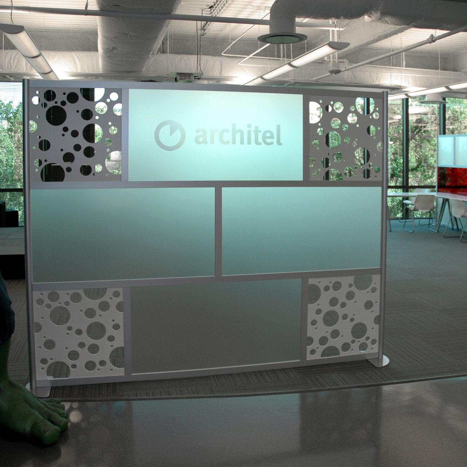 acrylic panels for bathroom walls%0A   u     Screen with Custom Cut out  u     Frosted Acrylic panels