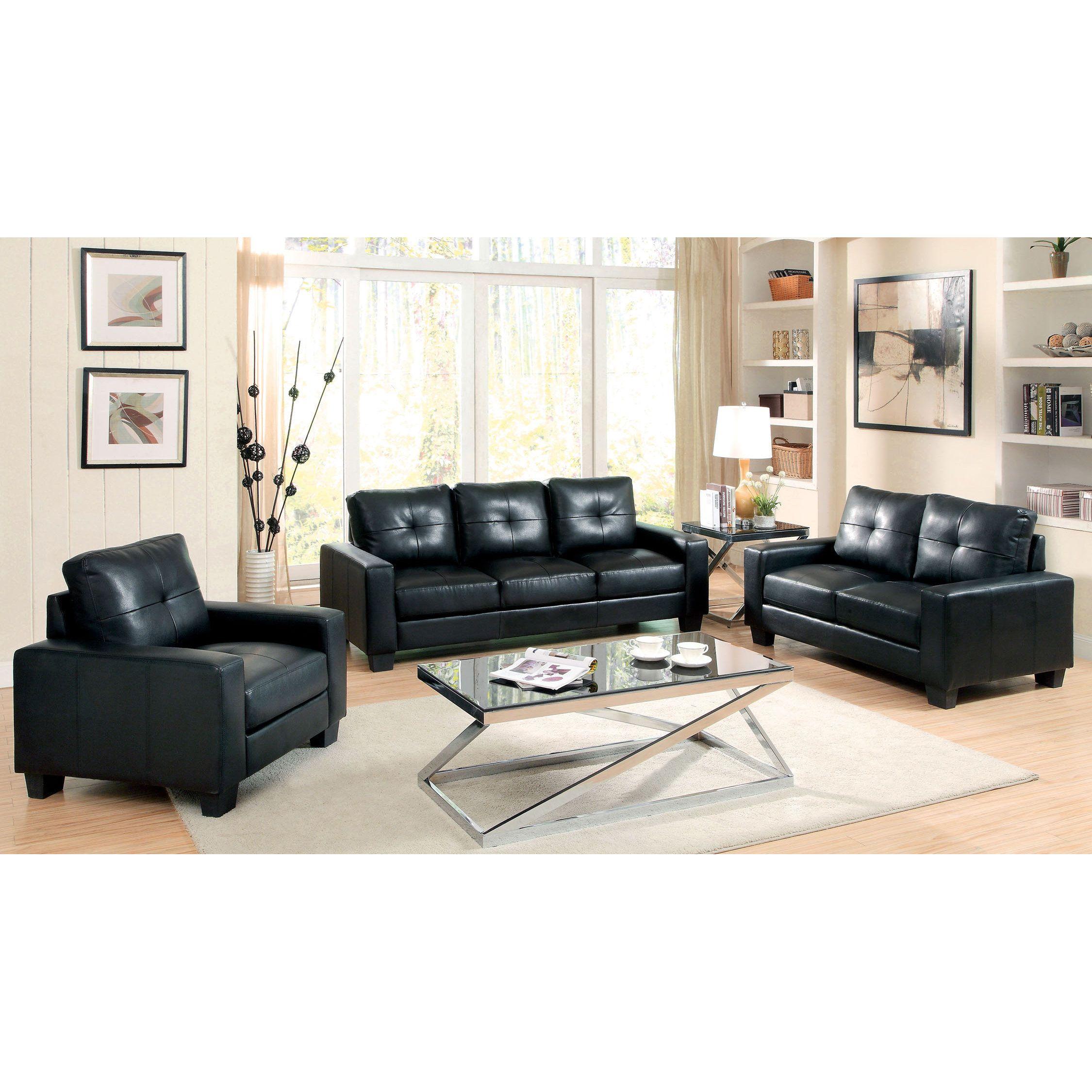 black leather living room furniture sets%0A Furniture