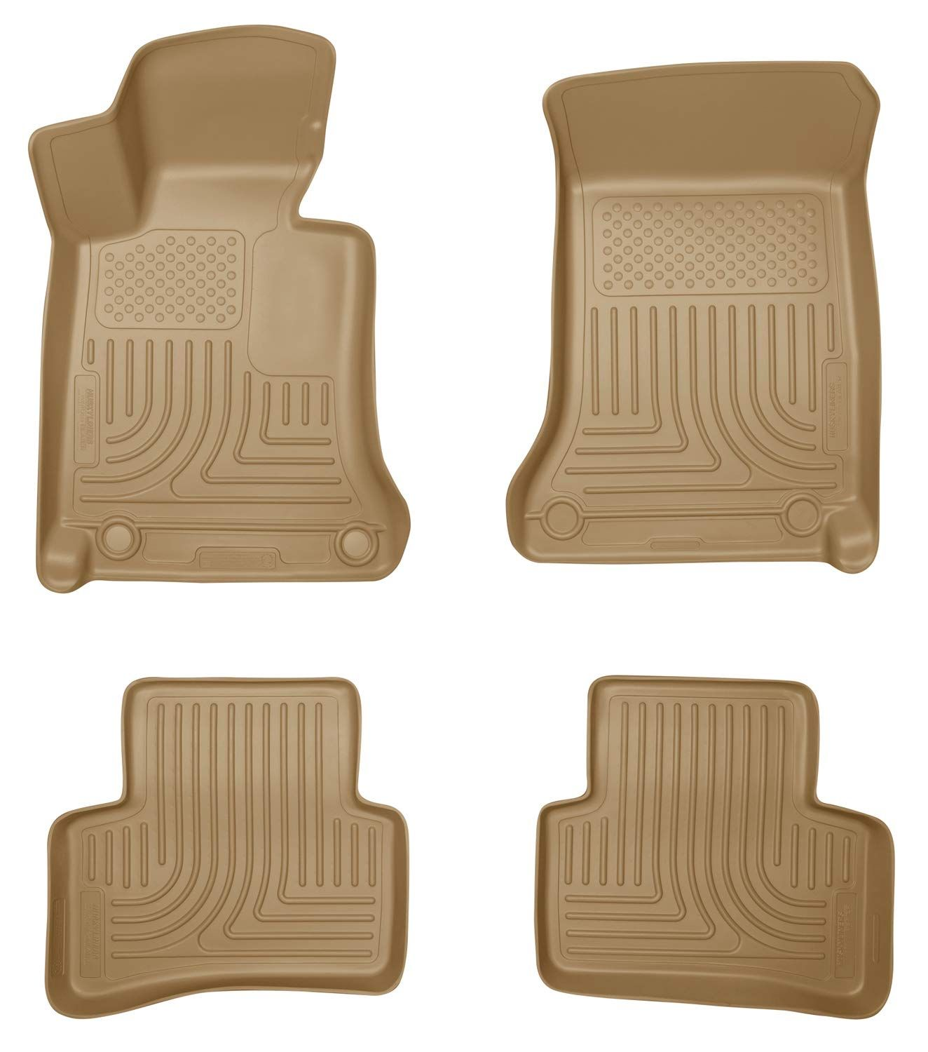 Husky Liners Front And 2nd Seat Floor Liners Fits 08 14 Mercedes C Class 4 Door You Can Get Additional Details At The Im In 2020 Cargo Liner Floor Liners Floor Mats