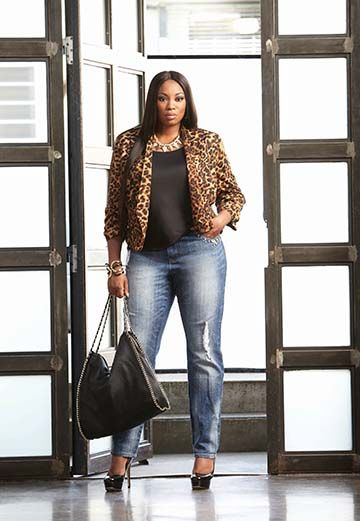 c0d7555fd22 Ashley Stewart Denim Campaign 2013. Model  LirisC.