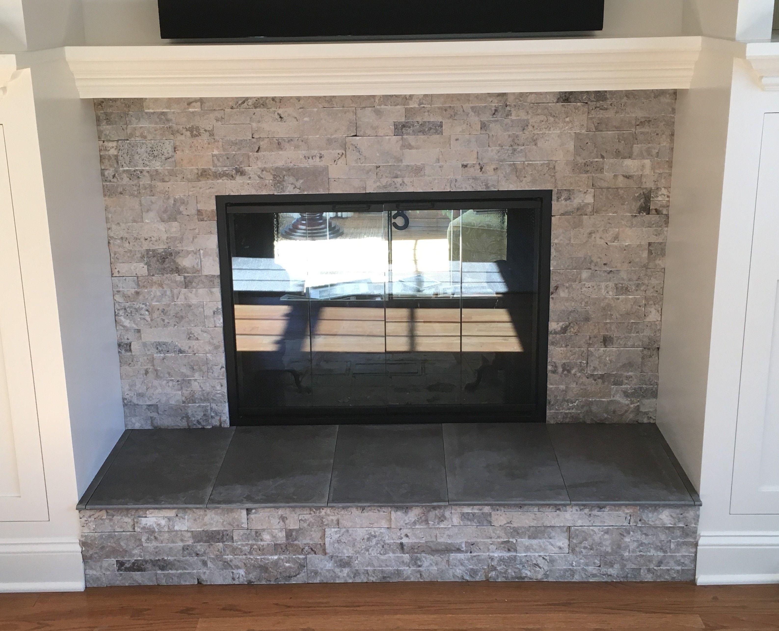 image result for fireplace hearth tile bullnose living room rh pinterest com